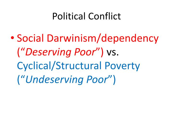 Political Conflict