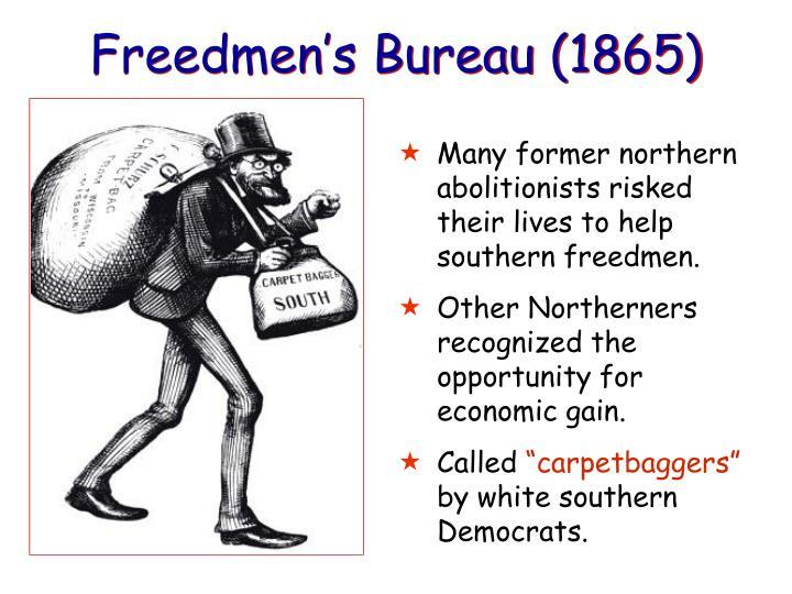 Freedmen's Bureau (1865)