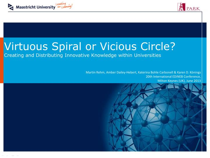Virtuous Spiral or Vicious Circle
