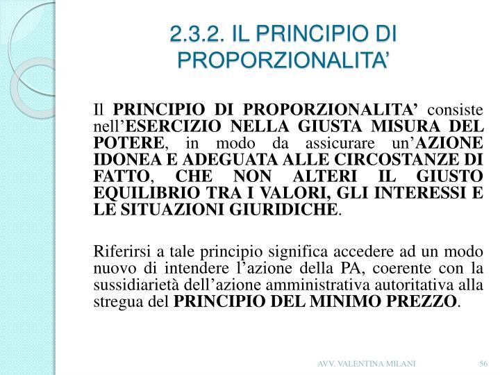 2.3.2. IL PRINCIPIO
