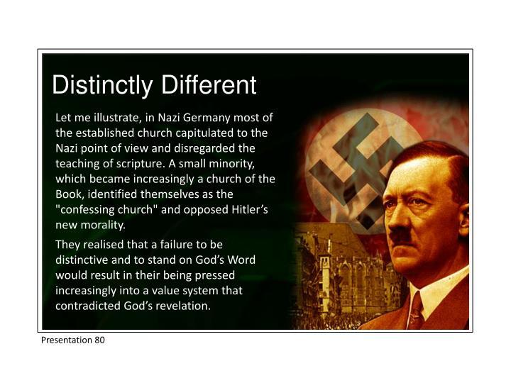 Distinctly Different