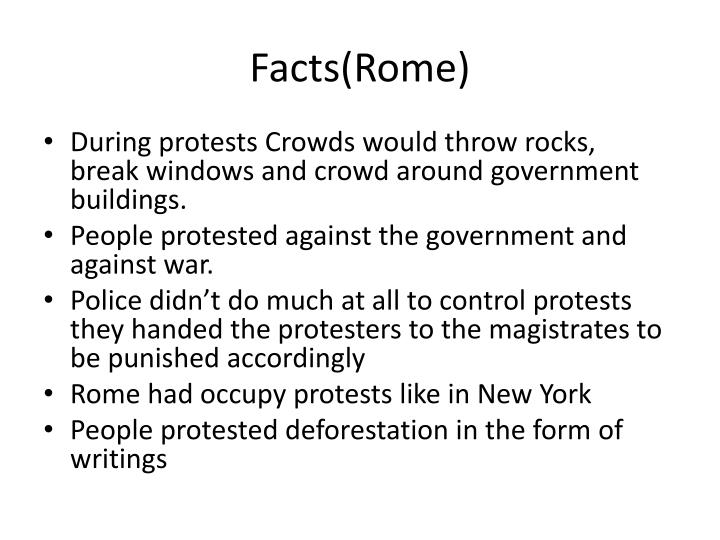 Facts(Rome)