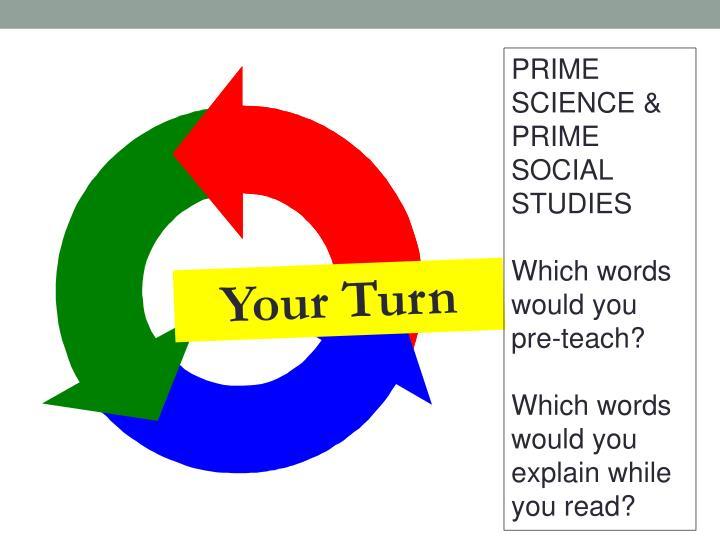 PRIME SCIENCE &