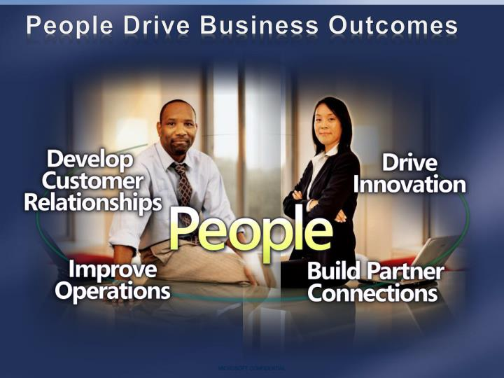 People Drive Business Outcomes
