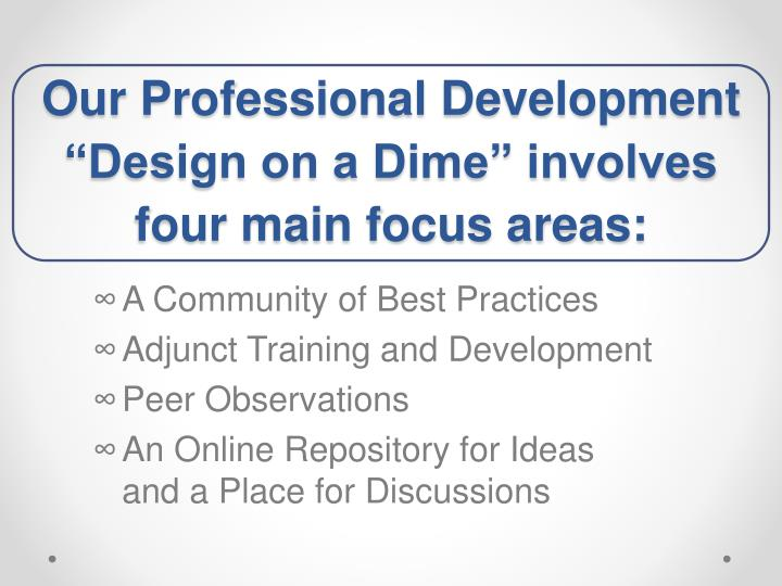 Our Professional Development