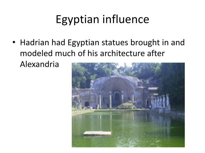 Egyptian influence