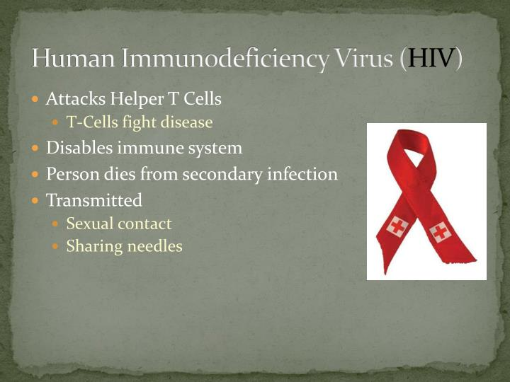 Human Immunodeficiency Virus (