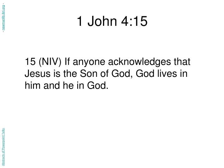 1 John 4:15