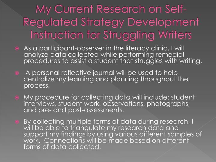 Research paper strategies for struggling writers