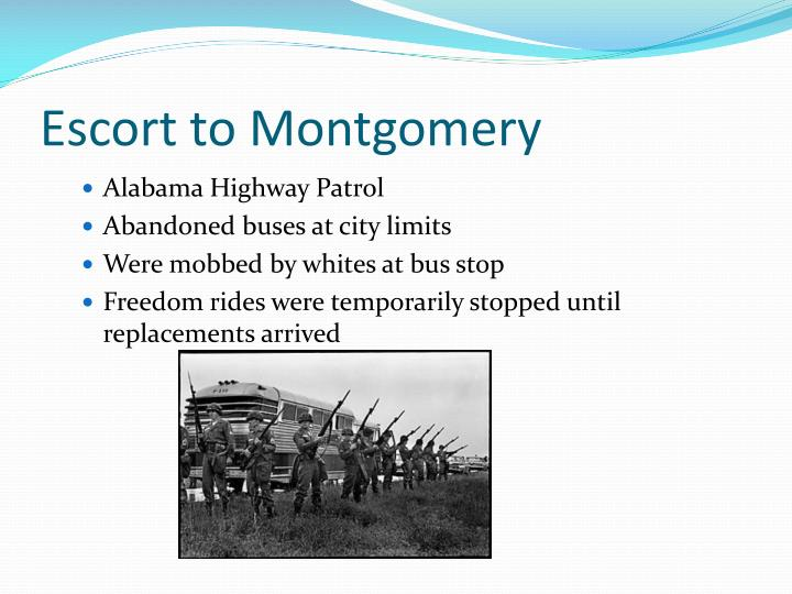 Escort to Montgomery