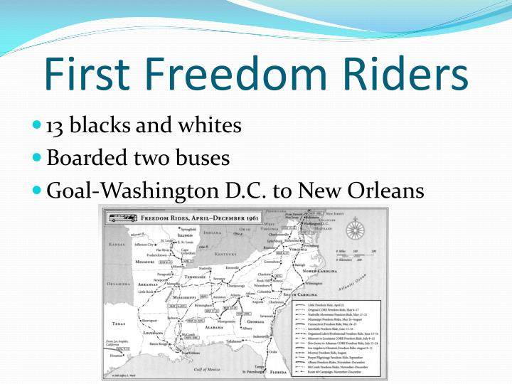 First Freedom Riders
