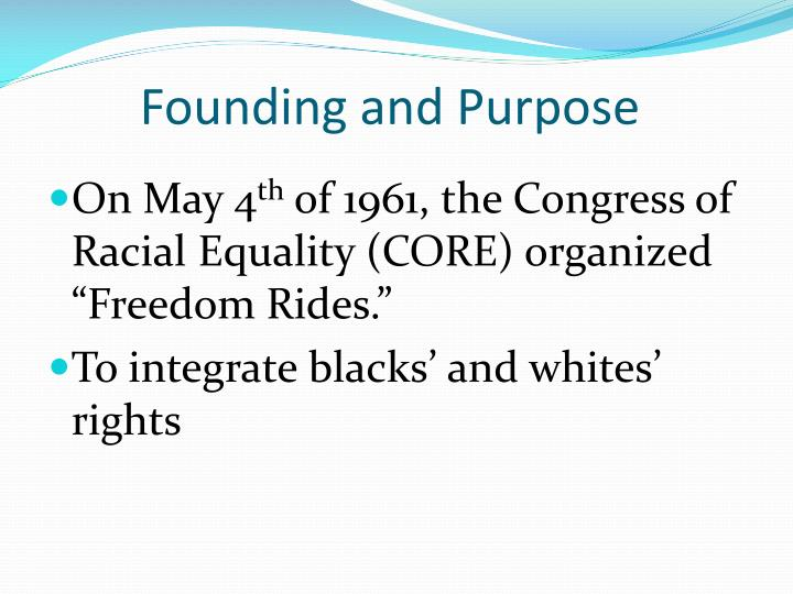 Founding and purpose