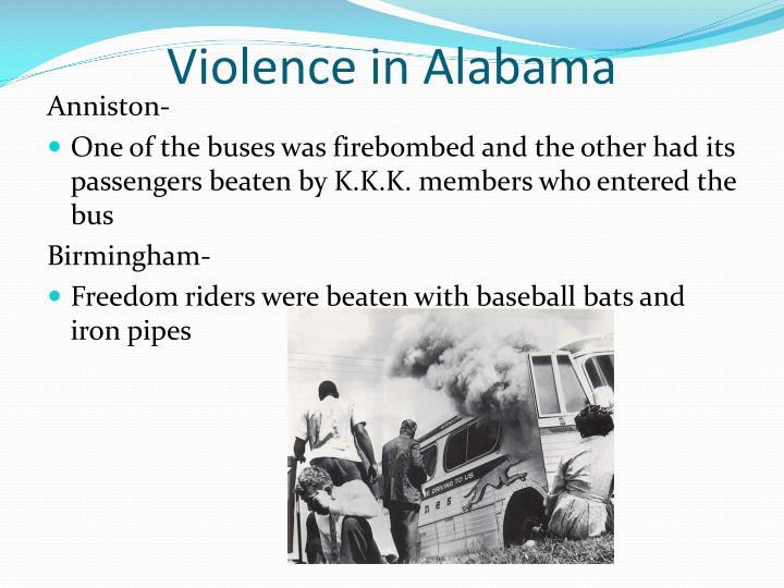Violence in Alabama