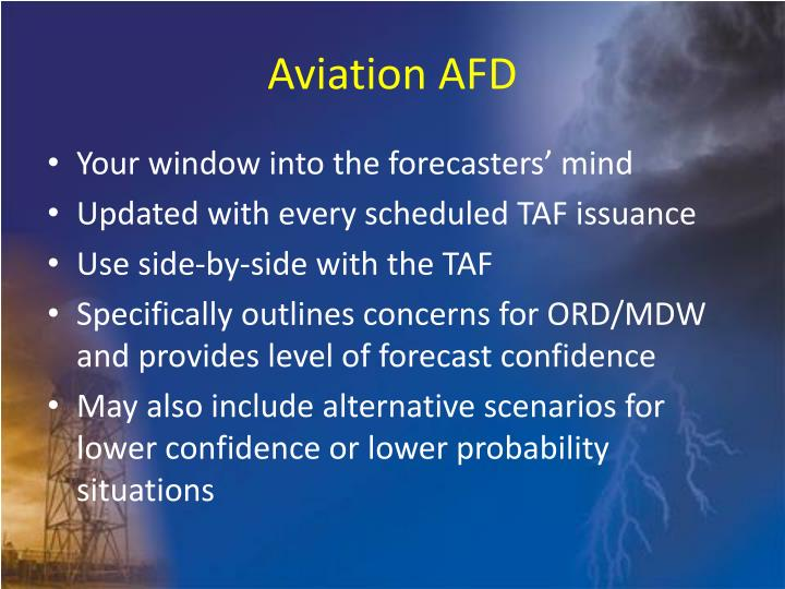 Aviation AFD