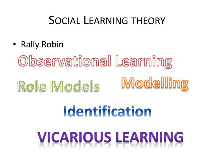 social learning theory donny
