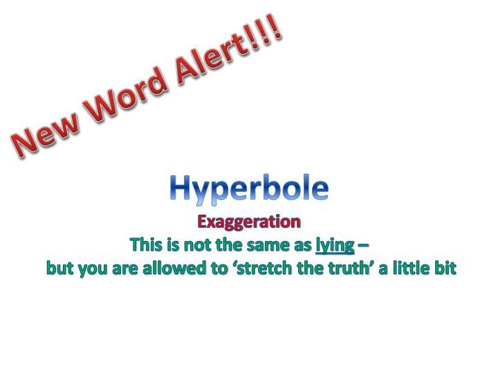 New Word Alert!!!