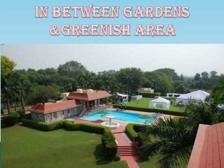 In Between Gardens