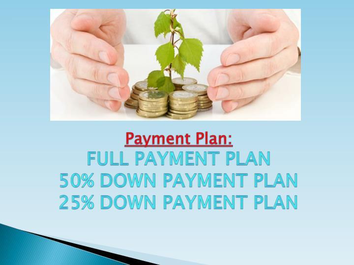 Payment Plan:
