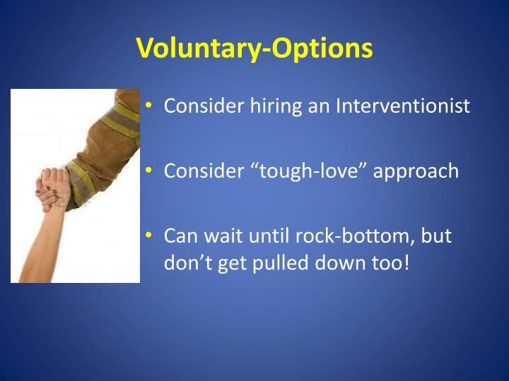 Voluntary-Options