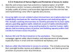 s o 4 protection of human rights and promotion of access to justice