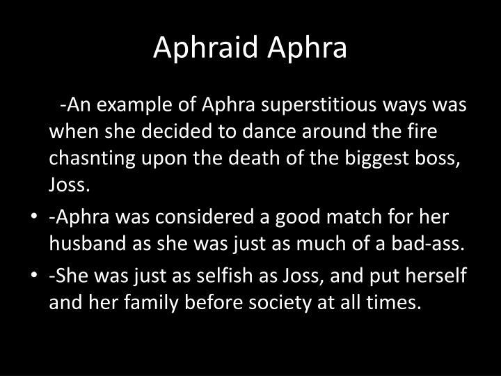 Aphraid