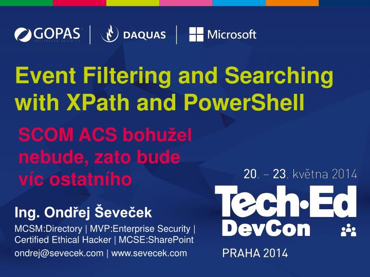 Event filtering and searching with xpath and powershell