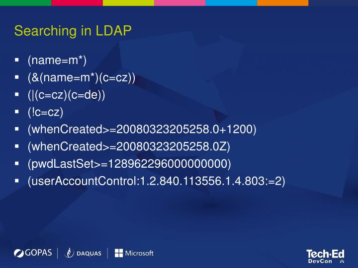 Searching in LDAP