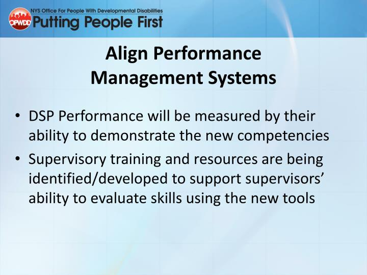 Align Performance