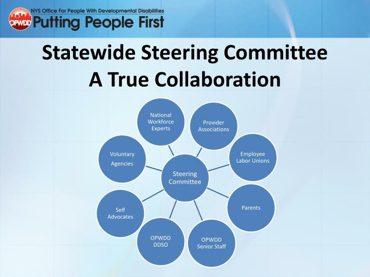 Statewide Steering Committee