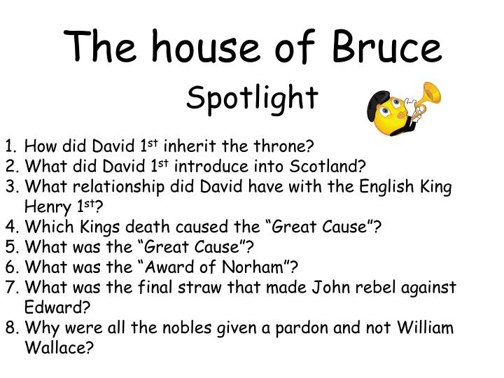 The house of Bruce