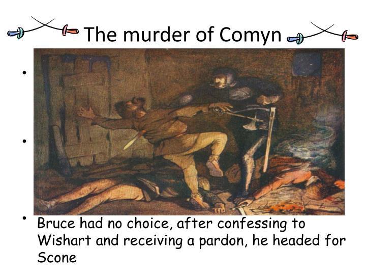 The murder of Comyn