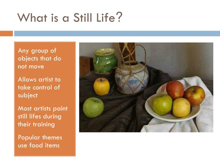 What is a still life