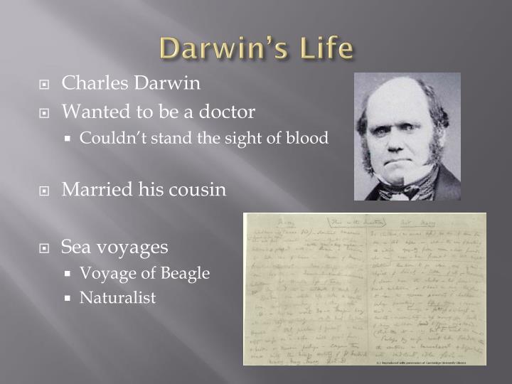 Darwin's Life