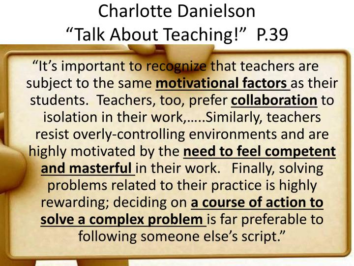 Charlotte Danielson