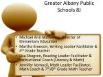 greater albany public schools 8j