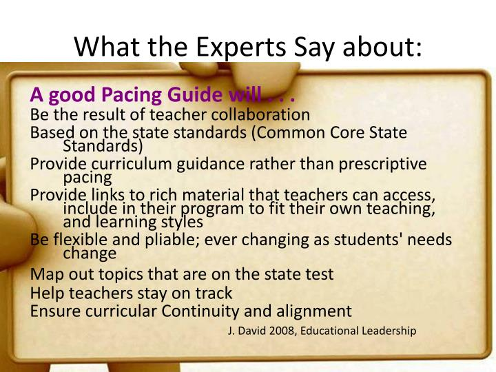 What the Experts Say about:
