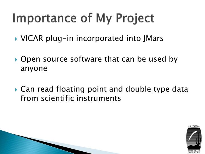 Importance of My Project