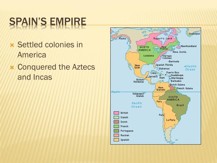 Spain's Empire