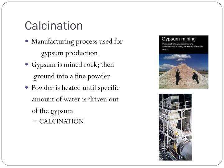 Calcination