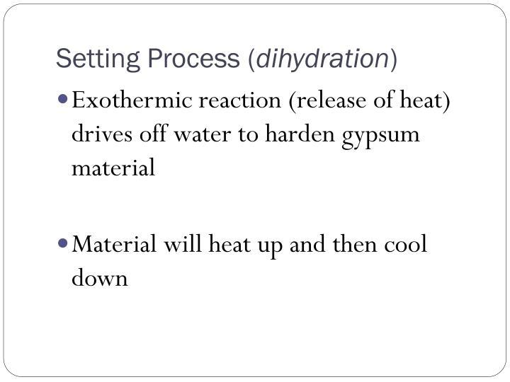 Setting Process (