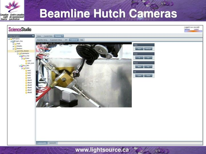 Beamline Hutch Cameras