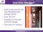 grid data storage