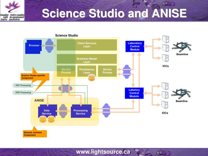 Science studio and anise