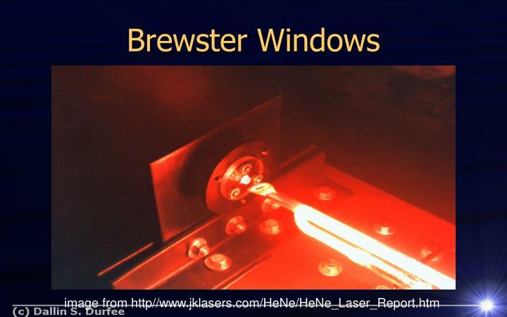 Brewster Windows