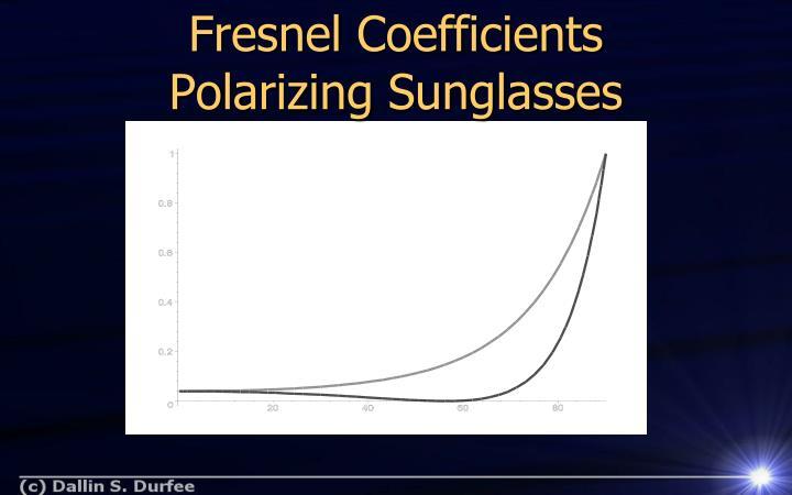 Fresnel Coefficients