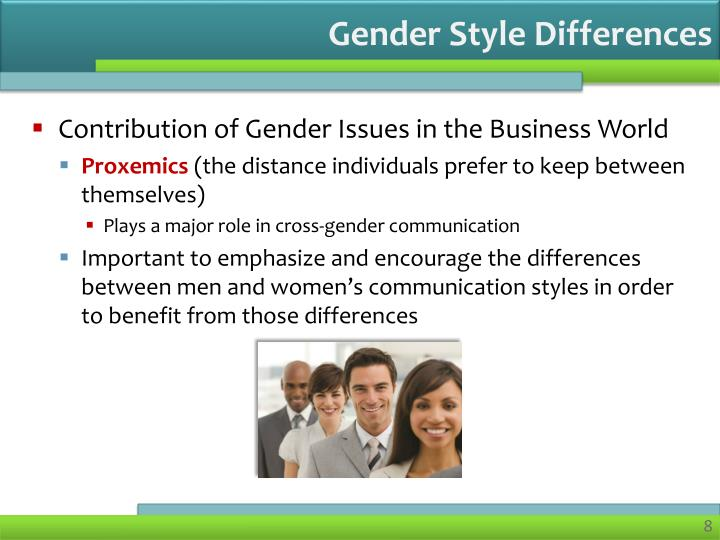 Gender Style Differences