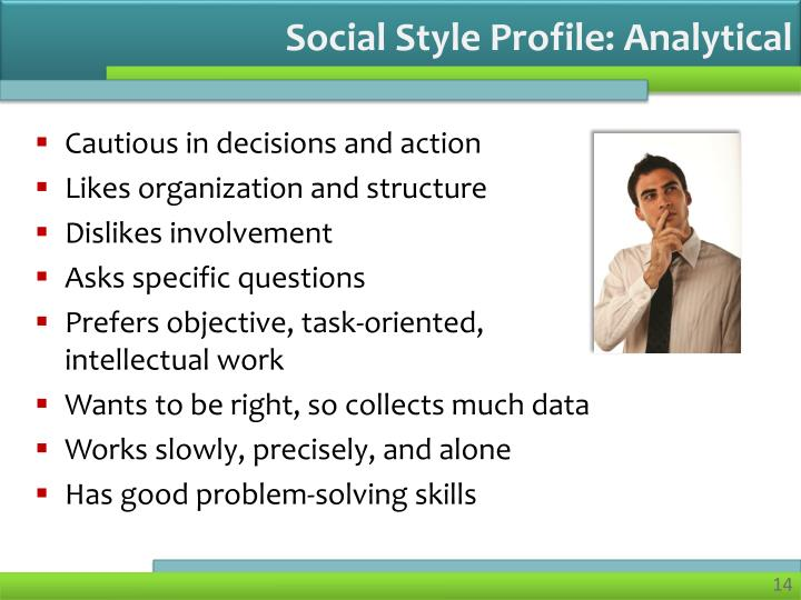 Social Style Profile: Analytical