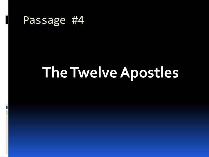Passage #4