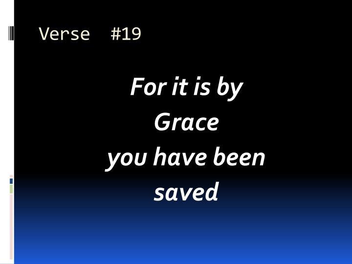 Verse  #19