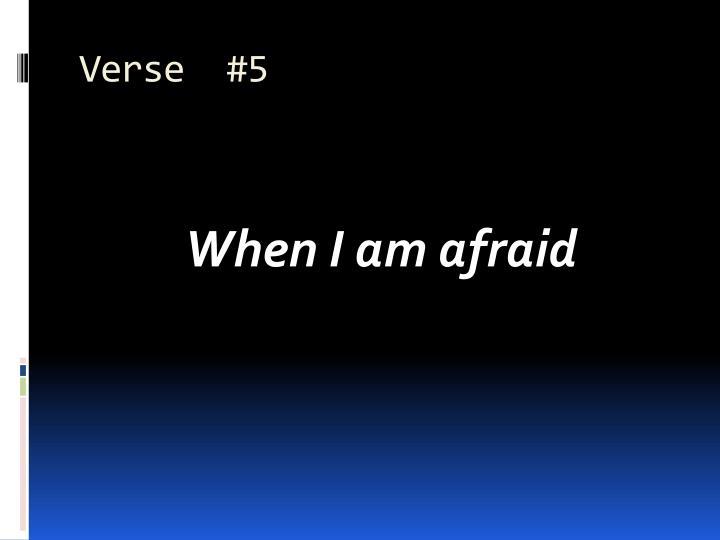Verse  #5